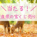 奈良県の当たる宝くじ売り場