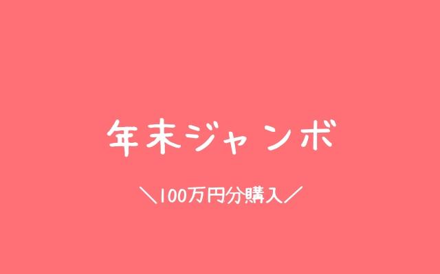 年末ジャンボ100万円